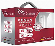 Лампа ксенон D1S 5000K Clearlight Xenon Premium+150%