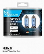 Лампы H7 12V 55W Clearlight XenonVision