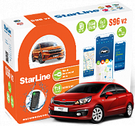 "GEN: автосигнализация StarLine S96 V2 BT 2CAN+4LIN GSM-GPS ""под ключ"""