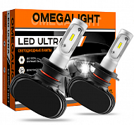 Лампа LED Omegalight Ultra  H4 (с обманкой)  2500 lm (1 шт)
